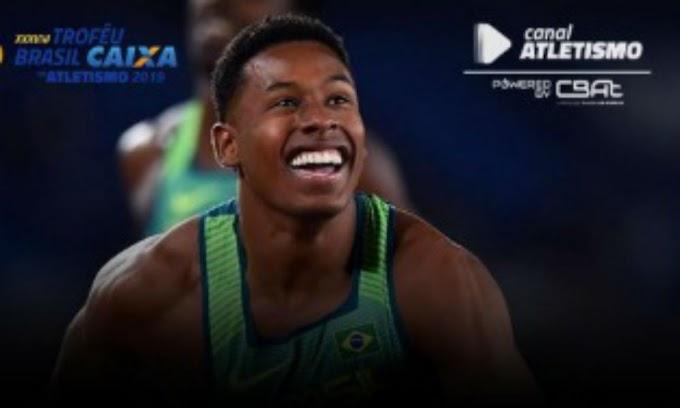 Saiba onde acompanhar o Troféu Brasil Caixa de Atletismo