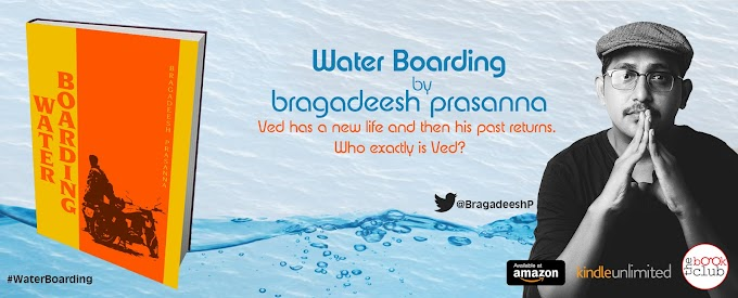 New Blog Tour: Water Boarding by Bragadeesh Prasanna