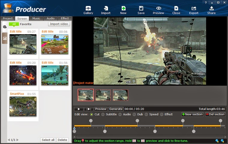 Pc Games Smartpixel Screen Recorder And Video Editor 2