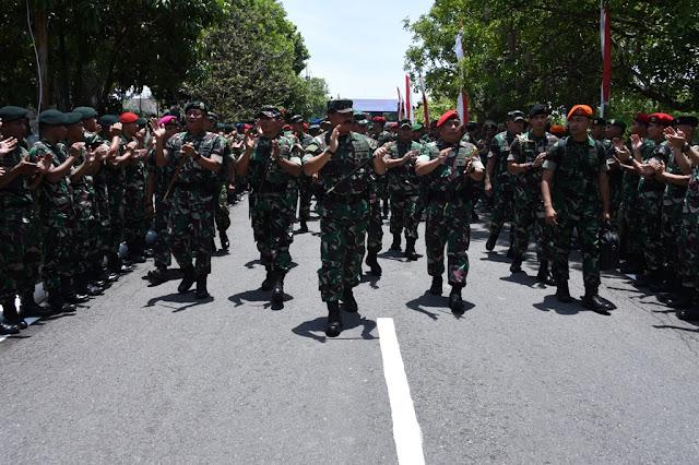 Panglima TNI : Prajurit TNI Waspadai Dinamika Perubahan Dunia