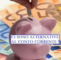 quali alternative ci sono per conto corrente, carta di credito e bancomat?