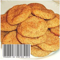 Biscoitos amanteigados de amendoim receita