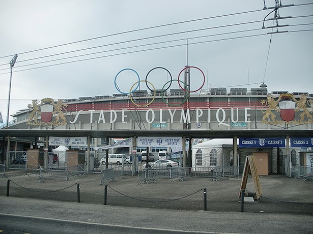 Stade Olympique (Olympic Stadium) in Lausanne, Switzerland