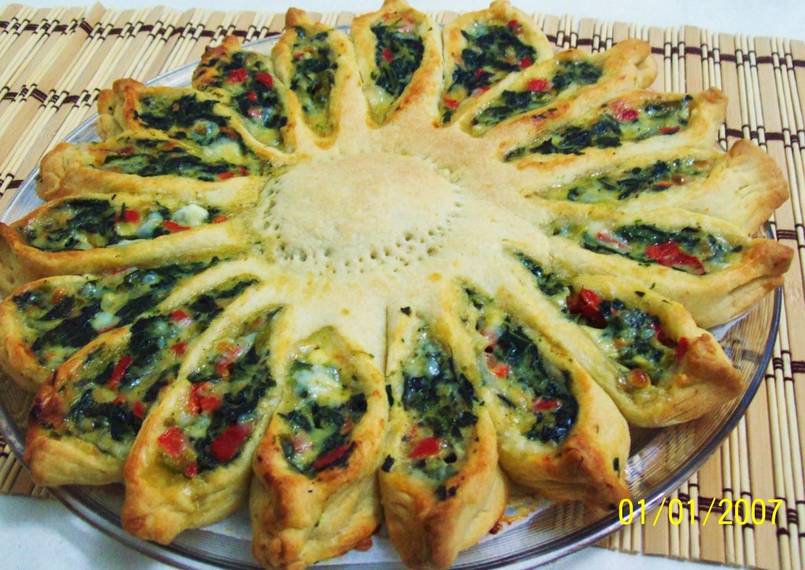 Peynirli Ispanaklı Kiş Tarifi