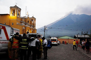 Guatemalan volcano