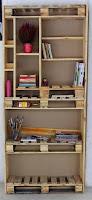 Escritorios hechos con palets de madera