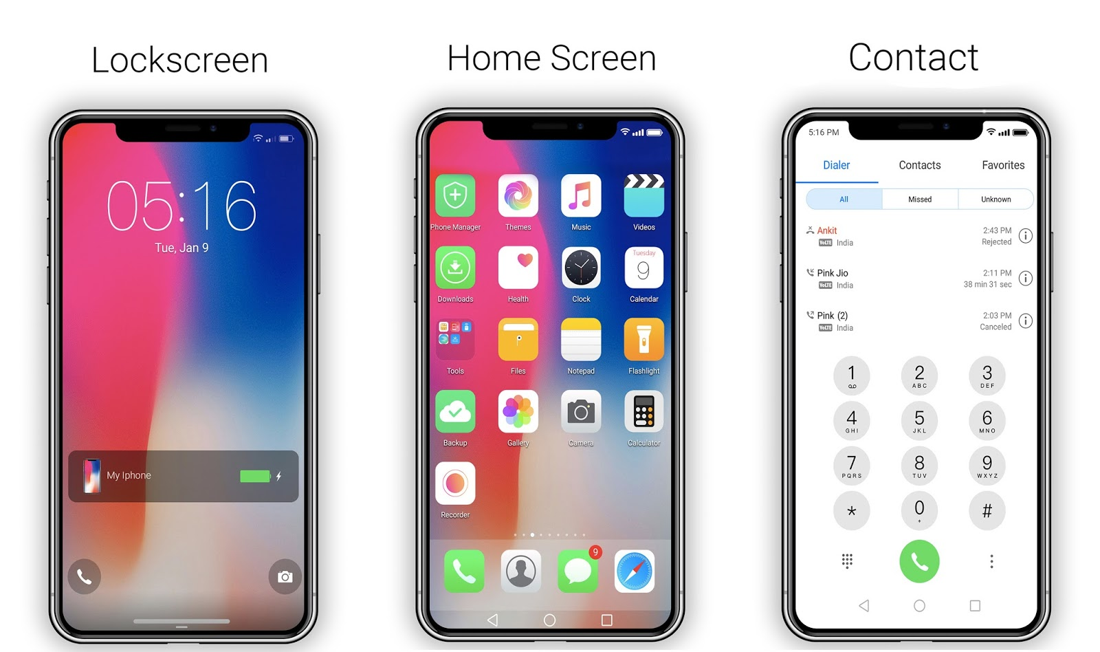 IOS 11 / IPhone X theme For EMUI 4 - HUAWEI THEMES