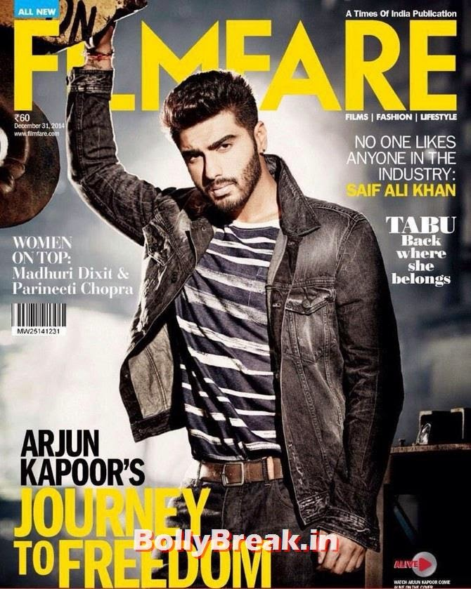 Arjun Kapoor, Bollywood Actors Hot & Sexy Pics on Magazine Covers