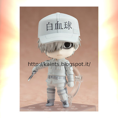 Da Cells at Work è stata creata la Nendoroid White Blood Cell.