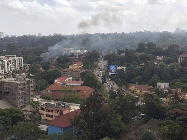 14 Riverside undersiege over Terrorists attacks. PHOTO | CITIZENTV