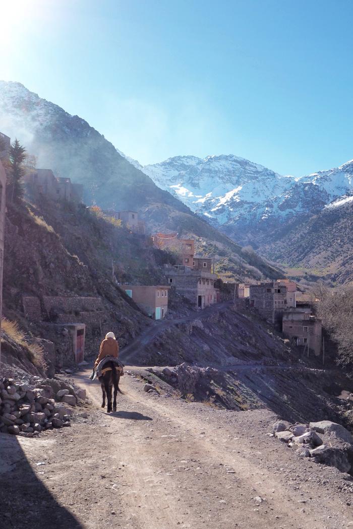 Séjour à Imlil, dans le Haut Atlas, au Maroc
