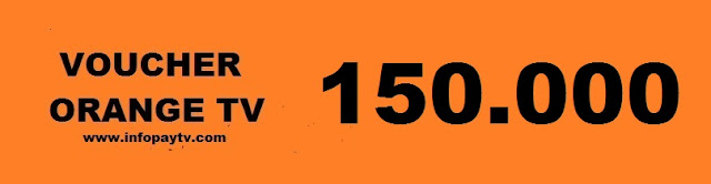 Voucher Orange TV 150.000
