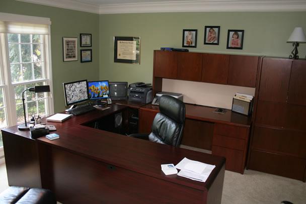 Workspace Modern Design Living Room Design Ideas