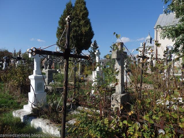 Cmentarz w Szegini (Shehyni), październik 2015.