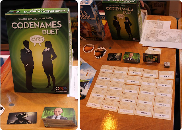 Codenames Duet - CGE - UK Games Expo