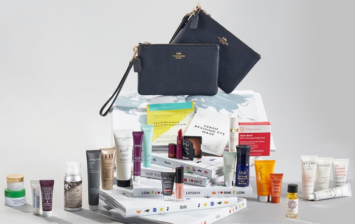 Here are the contents of the Space NK x Coach Summer 2019 Destination Beauty Edit - a gift with purchase that ships worldwide.