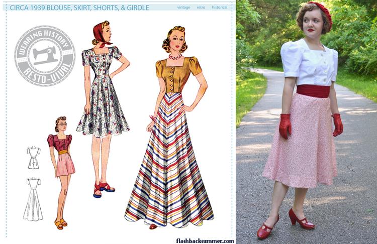 1939 Wearing History Ensemble - Flashback Summer