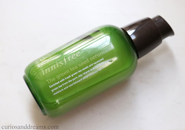 InnisfreeThe Green Tea Seed Serum review, Innisfree Green Tea Seed Serum review india