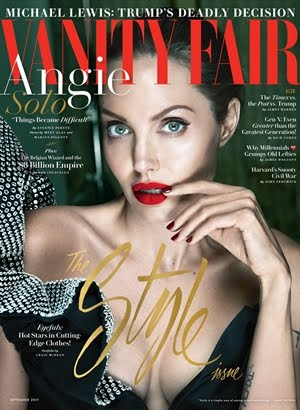 Angelina Jolie On Vanity Fair