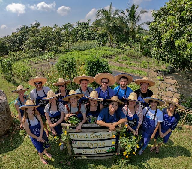 Thai Secret Organic Garden. Chiang Mai, Thailand. October 9th 2018