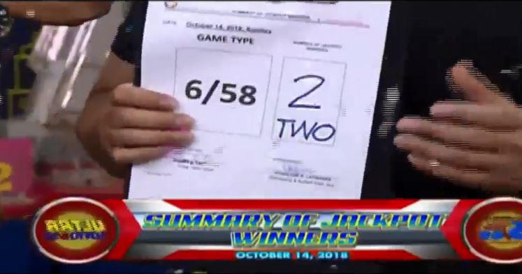 MAY NANALO NA: Lucky bettors win Php 1.18 billion in Ultra Lotto 6/58