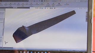 Blade wind turbine