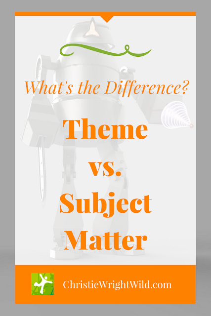WHAT'S THE DIFFERENCE BETWEEN THEME AND TOPIC || subject matter vs. theme | is the subject of a kids book the same thing as the theme