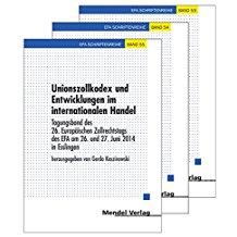 Europäisches Zollrecht in der niederländischen Rechtsprechung (EFA-Schriftenreihe)