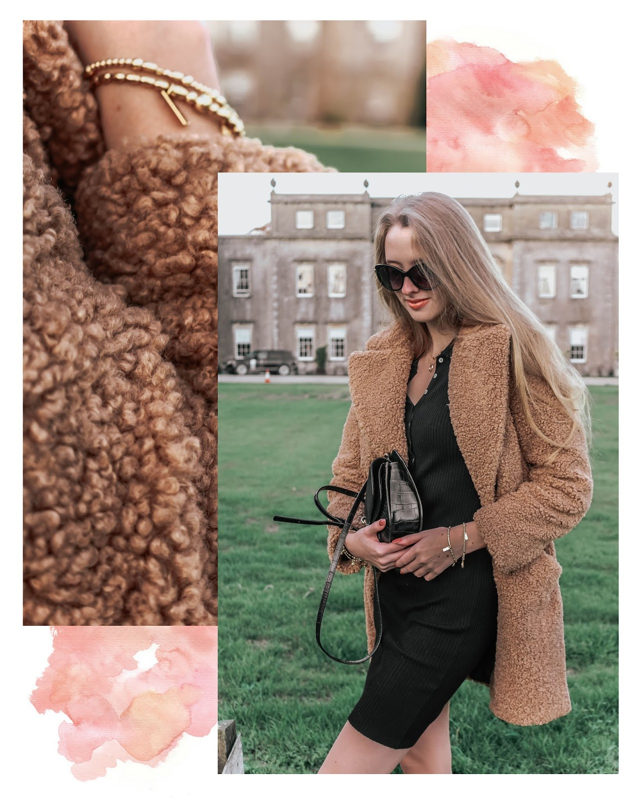 Styling a Teddybear Coat with a Dress