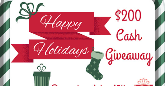 Enter to Win $200 Hot Holiday Cash