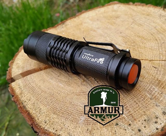Lanterna tactica LED Q5 UltraFire