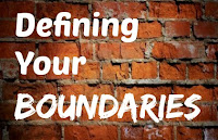 boundaries, defining your boundaries