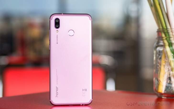 The Huawei Honor Play Smart Phone.