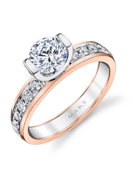 Wedding Rings In Rose Gold
