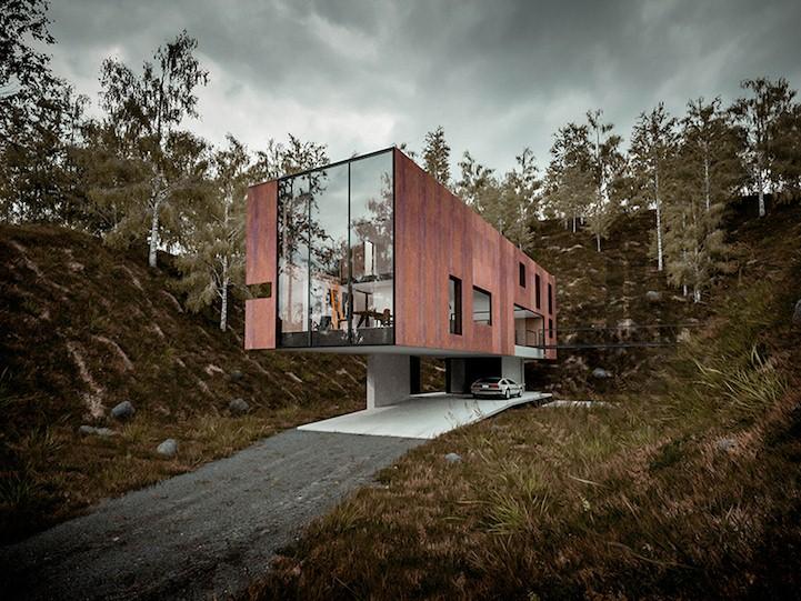 99+ Modern Minimalist House Model Design