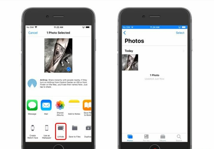 Cara aman menyembunyikan foto dan video di iPhone tanpa aplikasi tambahan 4