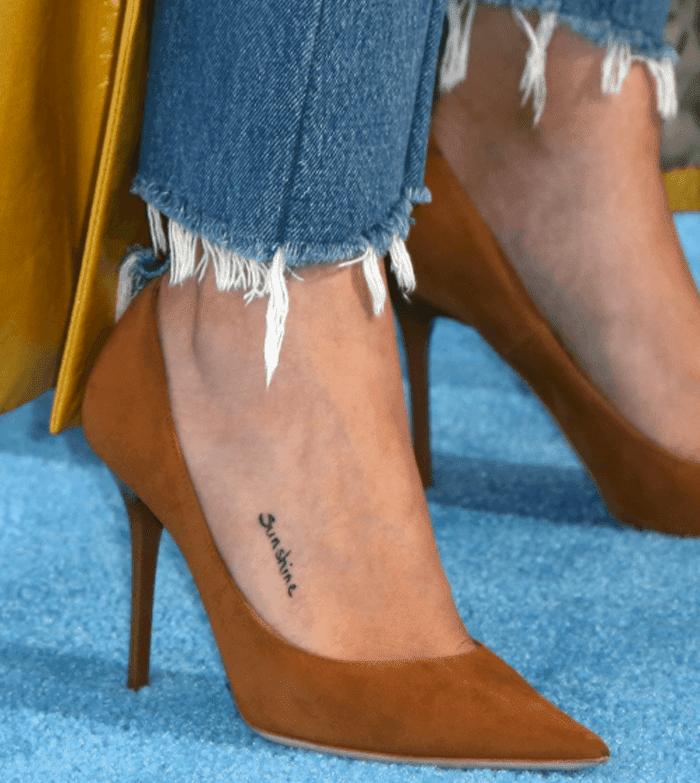 Tatuagens Da Selena Gomez Tem Meu Tamanho