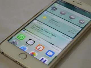 schermata blocco iphone