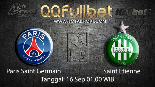 Prediksi Bola Jitu Paris Saint Germain vs Saint Etienne 16 September 2018 ( French Ligue 1 )