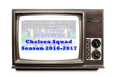 daftar skuad pemain chelsea 2016-2017