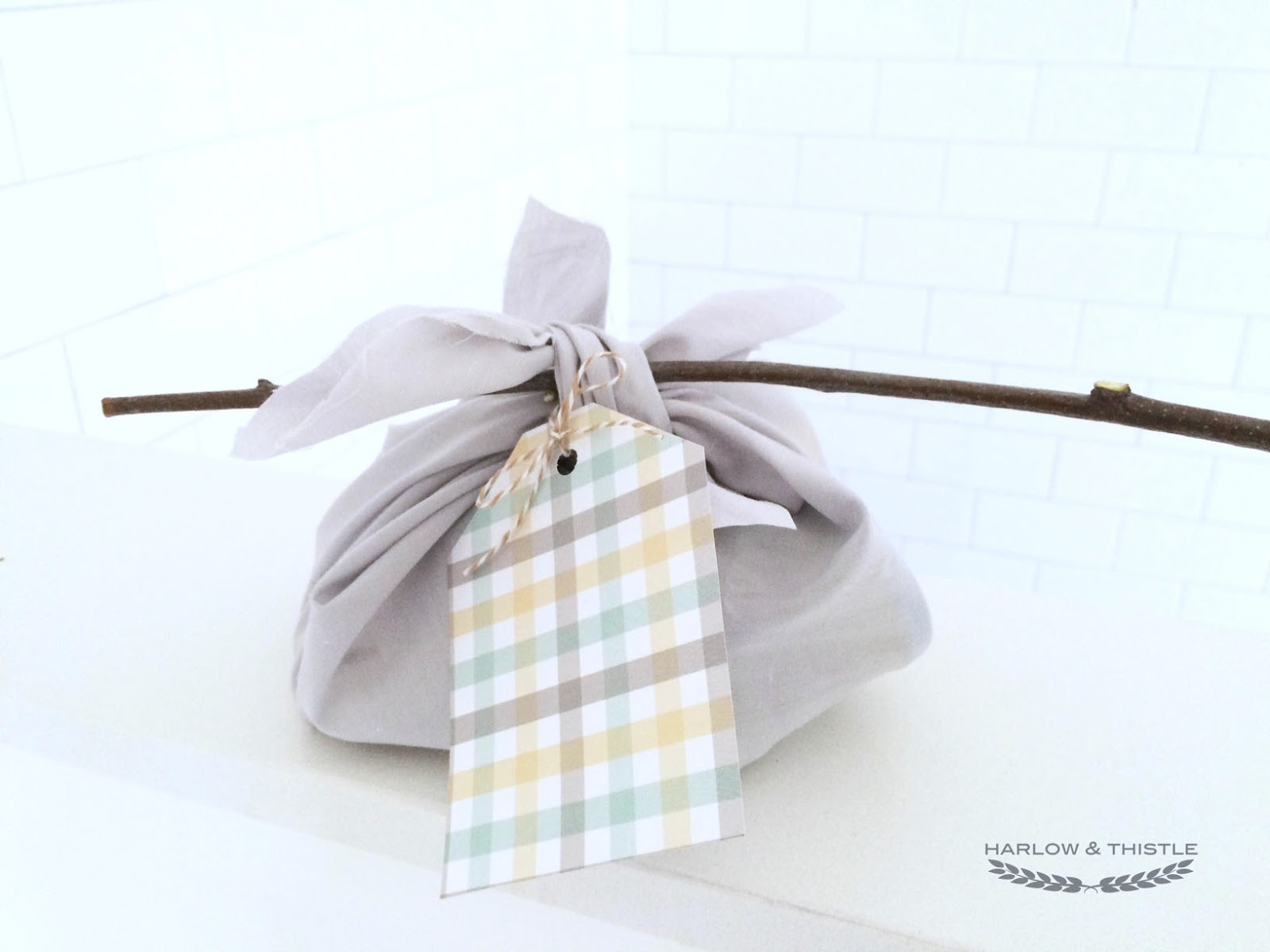 DIY Hobo-Sack Party Favor - Woodland Themed Party | Harlow & Thistle ...