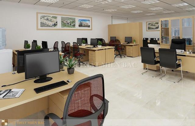 Thiết kế ghế văn phòng giá rẻ phải phù hợp với bàn làm việc để tạo sự cân bằng và hiện đại cũng như an toàn cho người ngồi