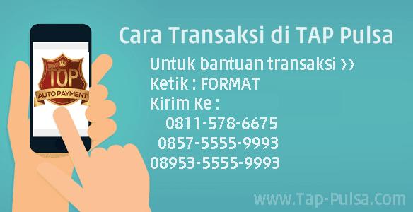 Tap-Pulsa.Com Format Cara Transaksi Bisnis Jual Pulsa Termurah