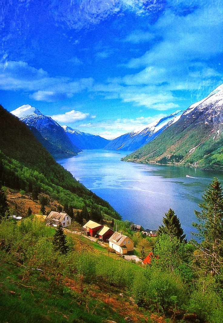 10 Hottest Summer Destinations In Europe | Geiranger Fjord, Norway