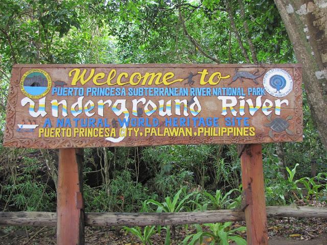 Underground river puerto princesa philippines palawan