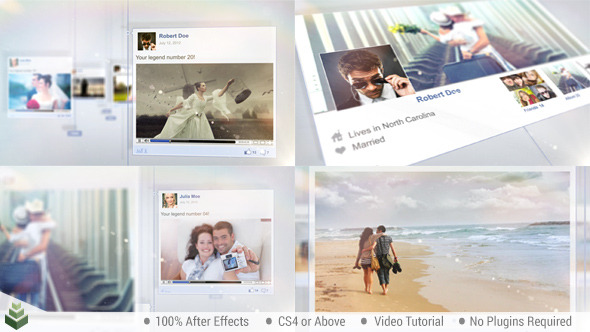 Timeline Story Project For After Effects Videohive - Timeline after effects template