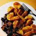 Pečené brambory s hlívou ústřičnou |RECEPT|