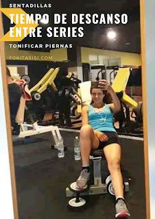 (Imagen) el tiempo de descanso se reduce (45 segundos a 1 minuto), de esta manera el músculo está más tenso y requerirá la utilización de más fibras musculares