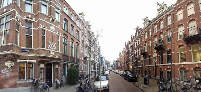 calle Roemer Visscherstraat Amsterdam