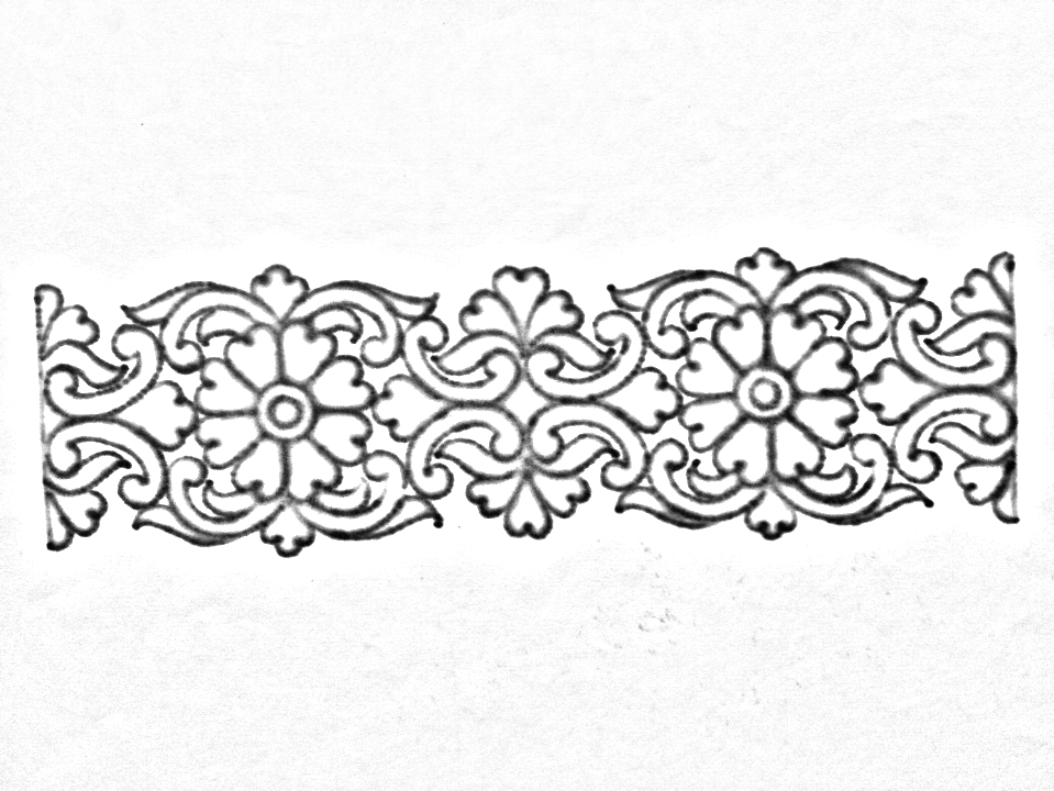 Saree Border Designs Drawing Ll Hand Embroidery Designs For Saree